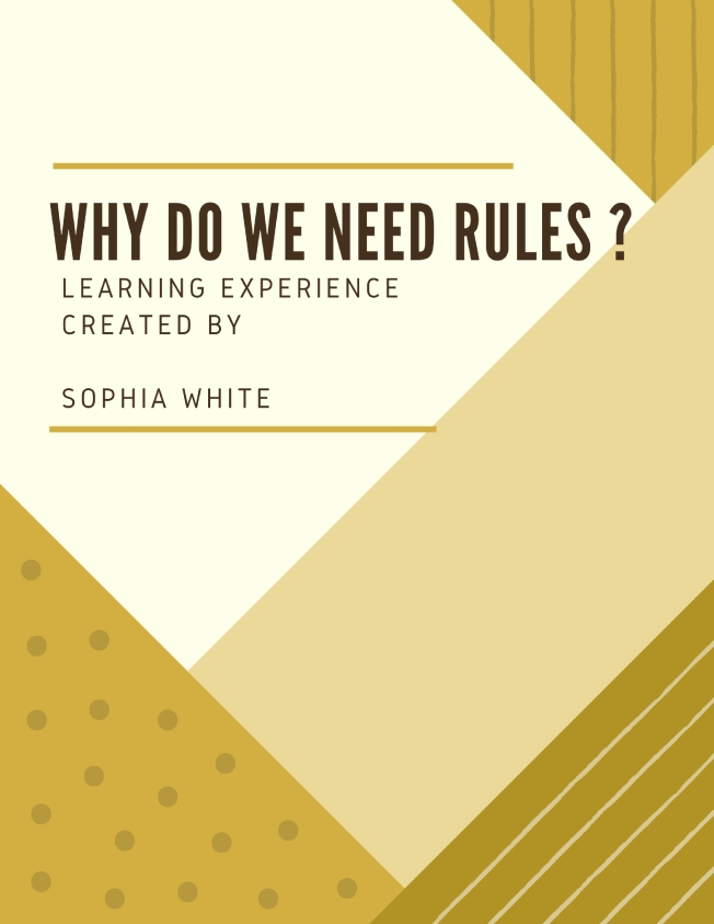 why do we need rules